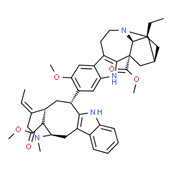 ChemSpider 2D Image | Methyl (2alpha)-12-methoxy-13-[(3alpha,5alpha,19E)-17-methoxy-17-oxovobasan-3-yl]ibogamine-18-carboxylate | C43H52N4O5