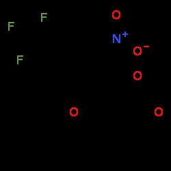 ChemSpider 2D Image | Nitisinone | C14H10F3NO5
