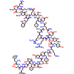 Glucagon structure
