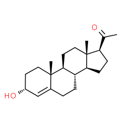 ChemSpider 2D Image | 3α-Dihydroprogesterone | C21H32O2