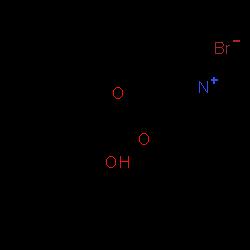 ChemSpider 2D Image | glycopyrronium bromide | C19H28BrNO3