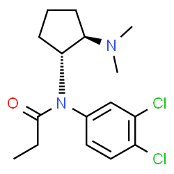 ChemSpider 2D Image | Eclanamine | C16H22Cl2N2O