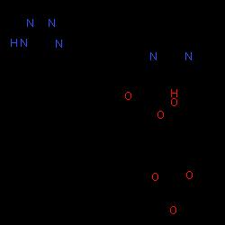 ChemSpider 2D Image | Olmesartan medoxomil | C29H30N6O6