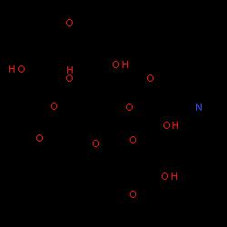 ChemSpider 2D Image | (-)-Erythromycin | C37H67NO13