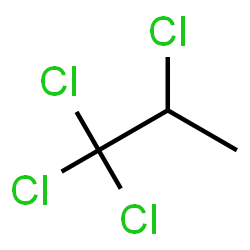 ChemSpider 2D Image | Tetrachloropropane | C3H4Cl4
