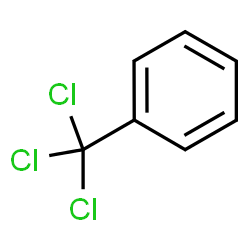 ChemSpider 2D Image | benzotrichloride | C7H5Cl3