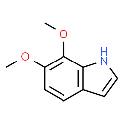 ChemSpider 2D Image | 6,7-Dimethoxy-1H-indole | C10H11NO2