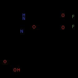 ChemSpider 2D Image | Lumacaftor | C24H18F2N2O5