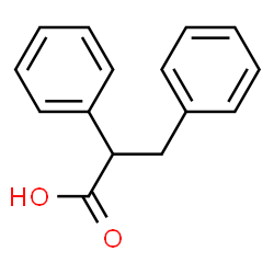 ChemSpider 2D Image | 2,3-Diphenylpropanoic acid | C15H14O2