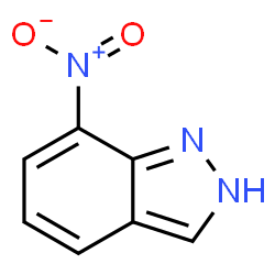 ChemSpider 2D Image | 7-Nitroindazole | C7H5N3O2
