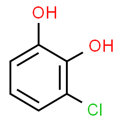 ChemSpider 2D Image | 3-CHLOROCATECHOL | C6H5ClO2