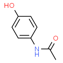 chemspider 2d image paracetamol c8h9no2