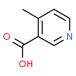 ChemSpider 2D Image | 4-Methylnicotinic acid | C7H7NO2