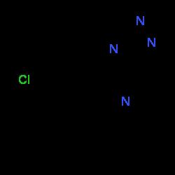 ChemSpider 2D Image | Alprazolam | C17H13ClN4