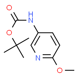 ChemSpider 2D Image | 2-Methyl-2-propanyl (6-methoxy-3-pyridinyl)carbamate | C11H16N2O3
