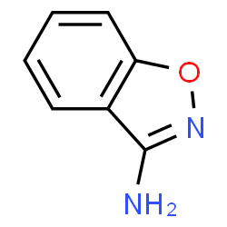 ChemSpider 2D Image | 1,2-benzoxazol-3-amine | C7H6N2O
