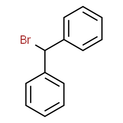 ChemSpider 2D Image | Benzhydryl Bromide | C13H11Br