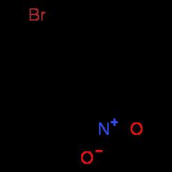 ChemSpider 2D Image | 4-bromonitrobenzene | C6H4BrNO2