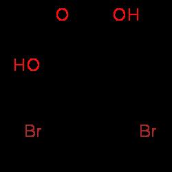 35 Dibromo 2 Hydroxy 4 Methylbenzoic Acid