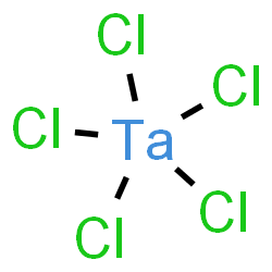 ChemSpider 2D Image | tacl5 | Cl5Ta