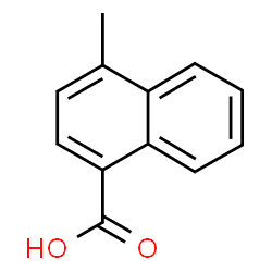 ChemSpider 2D Image | 4-Methyl-1-naphthoic acid | C12H10O2