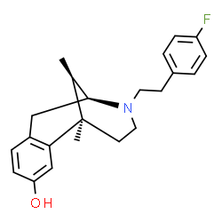 ChemSpider 2D Image | Fluorophen | C22H26FNO