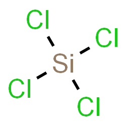 ChemSpider 2D Image | Silicon tetrachloride | Cl4Si