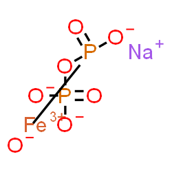 ChemSpider 2D Image | Ferric sodium pyrophosphate | FeNaO7P2