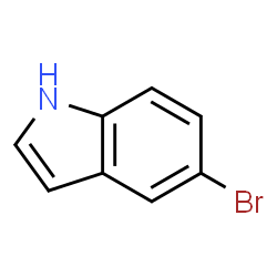 ChemSpider 2D Image | 5-Bromoindole | C8H6BrN
