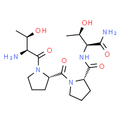 ChemSpider 2D Image | Rapastinel | C18H31N5O6