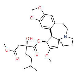 ChemSpider 2D Image | O~3~-[(2R)-2-Hydroxy-2-(2-methoxy-2-oxoethyl)-5-methylhexanoyl]cephalotaxine | C28H37NO8