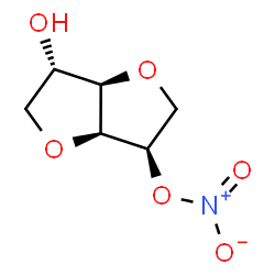 ChemSpider 2D Image | Isosorbide 5-nitrate | C6H9NO6