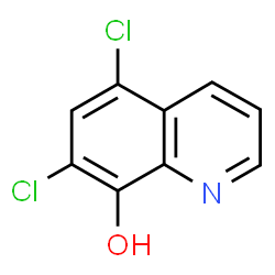 ChemSpider 2D Image | Chloroxine | C9H5Cl2NO