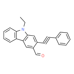 9 Ethyl 2 Phenylethynyl 9H Carbazole 3 Carbaldehyde