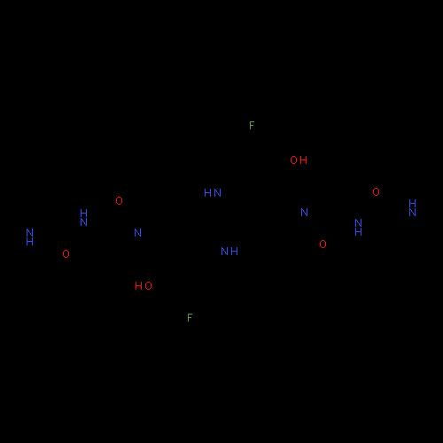 ChemSpider 2D Image | Birinapant | C42H56F2N8O6