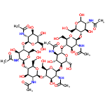 ChemSpider 2D Image | heptaacetyl-chitoheptaose | C56H93N7O36