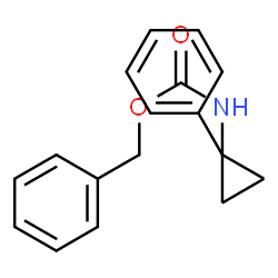 ChemSpider 2D Image | Benzyl (1-phenylcyclopropyl)carbamate | C17H17NO2