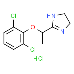 ChemSpider 2D Image | Lofexidine HCl | C11H13Cl3N2O