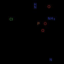 ChemSpider 2D Image | fosdevirine | C20H17ClN3O3P