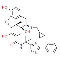 ChemSpider 2D Image | Naldemedine | C32H34N4O6