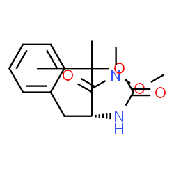 ChemSpider 2D Image | N-Methoxy-N-methyl-Nalpha-{[(2-methyl-2-propanyl)oxy]carbonyl}phenylalaninamide | C16H24N2O4