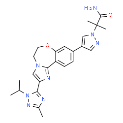 ChemSpider 2D Image | Taselisib | C24H28N8O2