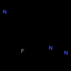 ChemSpider 2D Image | osilodrostat | C13H10FN3
