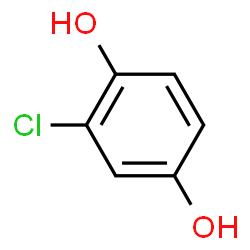 ChemSpider 2D Image | CHLOROHYDROQUINONE | C6H5ClO2