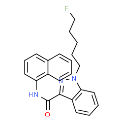 ChemSpider 2D Image | 5-FLUORO-MN-18 | C23H22FN3O