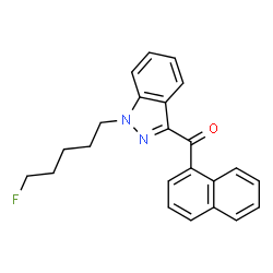 ChemSpider 2D Image   THJ-2201   C23H21FN2O