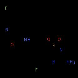 ChemSpider 2D Image | Verubecestat | C17H17F2N5O3S