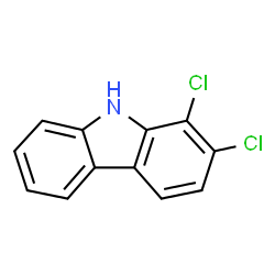 ChemSpider 2D Image | DICHLORO-9H-CARBAZOLE | C12H7Cl2N