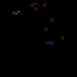 ChemSpider 2D Image | Ifetroban sodium | C25H31N2NaO5