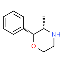 ChemSpider 2D Image | (2R,3S)-3-Methyl-2-phenylmorpholine | C11H15NO